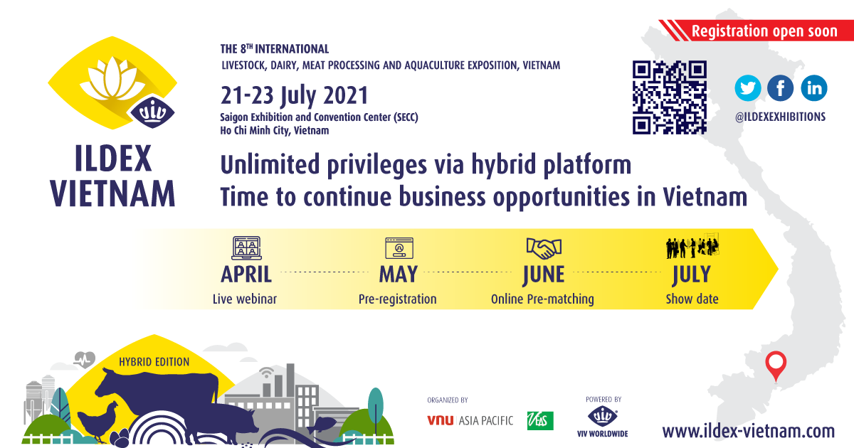 ILDEX Vietnam to take place in July as scheduled