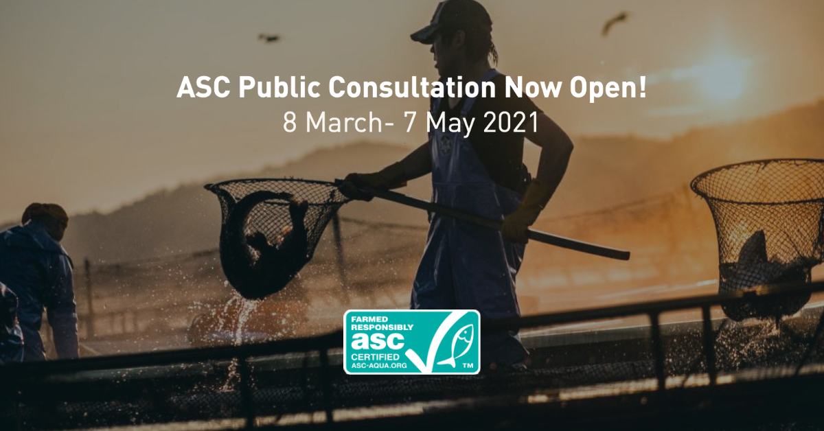 ASC opens consultation on proposed aligned farm standard